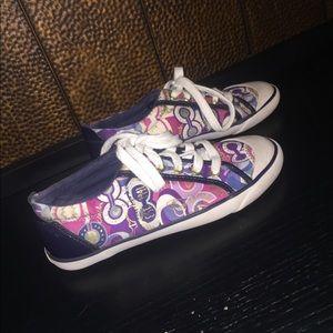 Coach Barrett Poppy Glasser Sneakers Shoes 6
